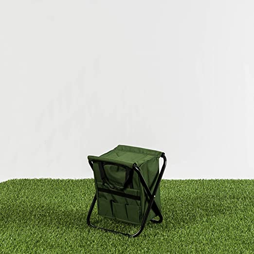Habita Home Silla Nevera Plegable 32x27x34cm Color Verde: Amazon ...