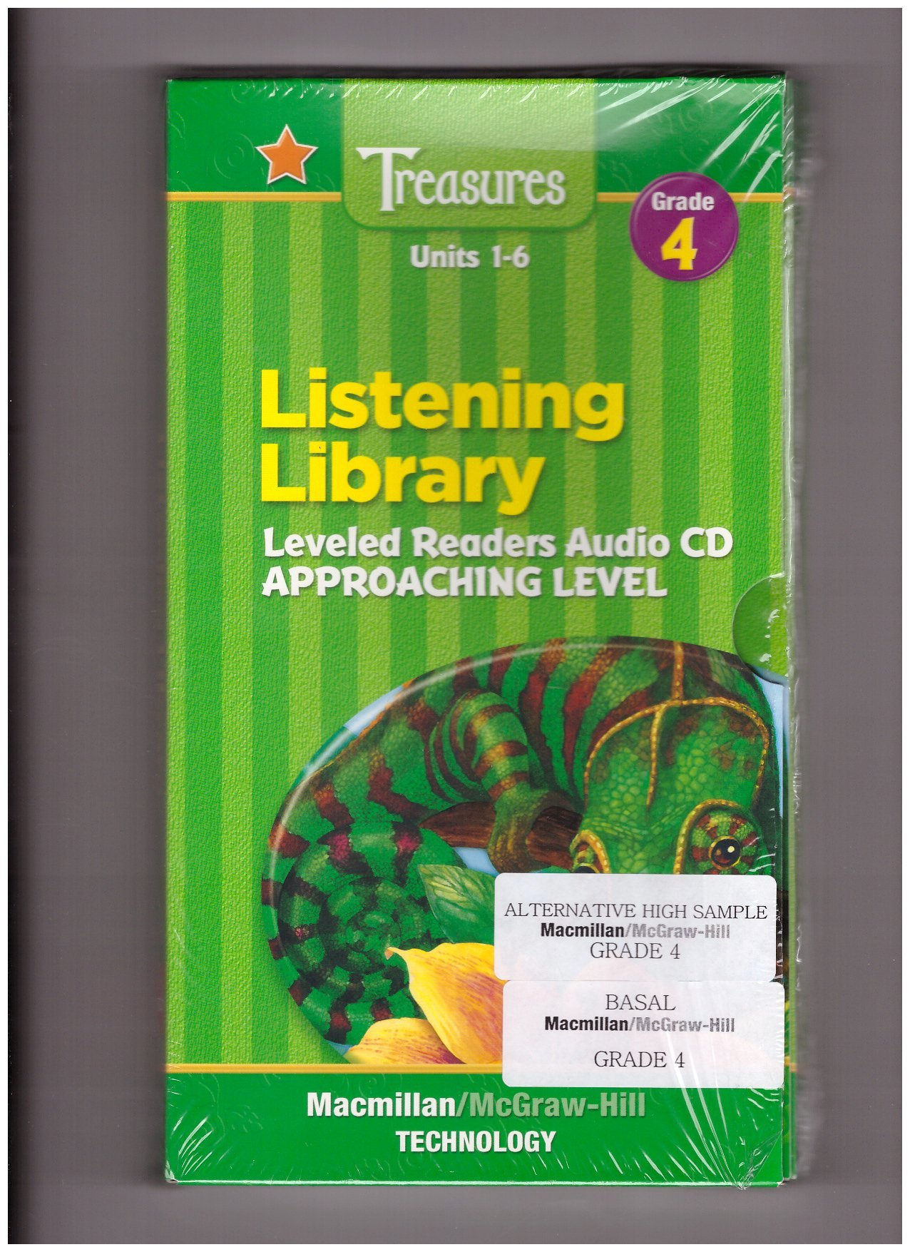 Units 1-6 Listening Library Leveled Readers Audio CD Approaching Level  (Macmillan McGraw-Hill Treasures : a reading/language arts program. grade  4): Donald ...