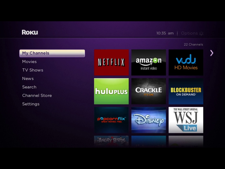Setting up Amazon Instant Video on your Roku