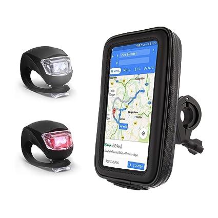 Radsport Silikon Fahrrad Handy Halterung für Flasche GPS Navi MP3 Band Straps Befestigung