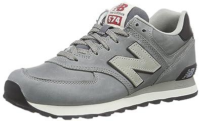 brand new 46271 66b6f New Balance ML574 D, Men s Low-Top Sneakers, Grey, 8 UK