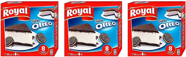 Royal Tarta Oreo 215 gr. - [Pack 3]: Amazon.es: Alimentación y bebidas