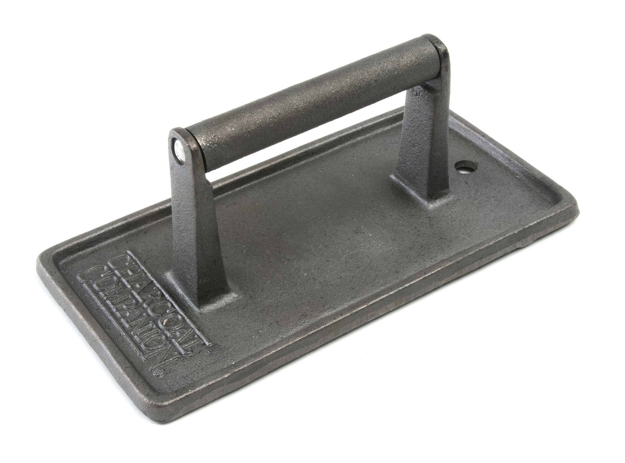 Charcoal Companion Cast Iron 8-3/4-Inch by 4-1/2-Inch Rectangular Grill Press by Charcoal Companion