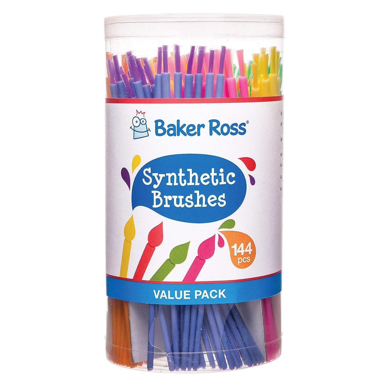 Baker Ross Pinceles sintéticos (pack de 144) - Tubo ahorro de ...