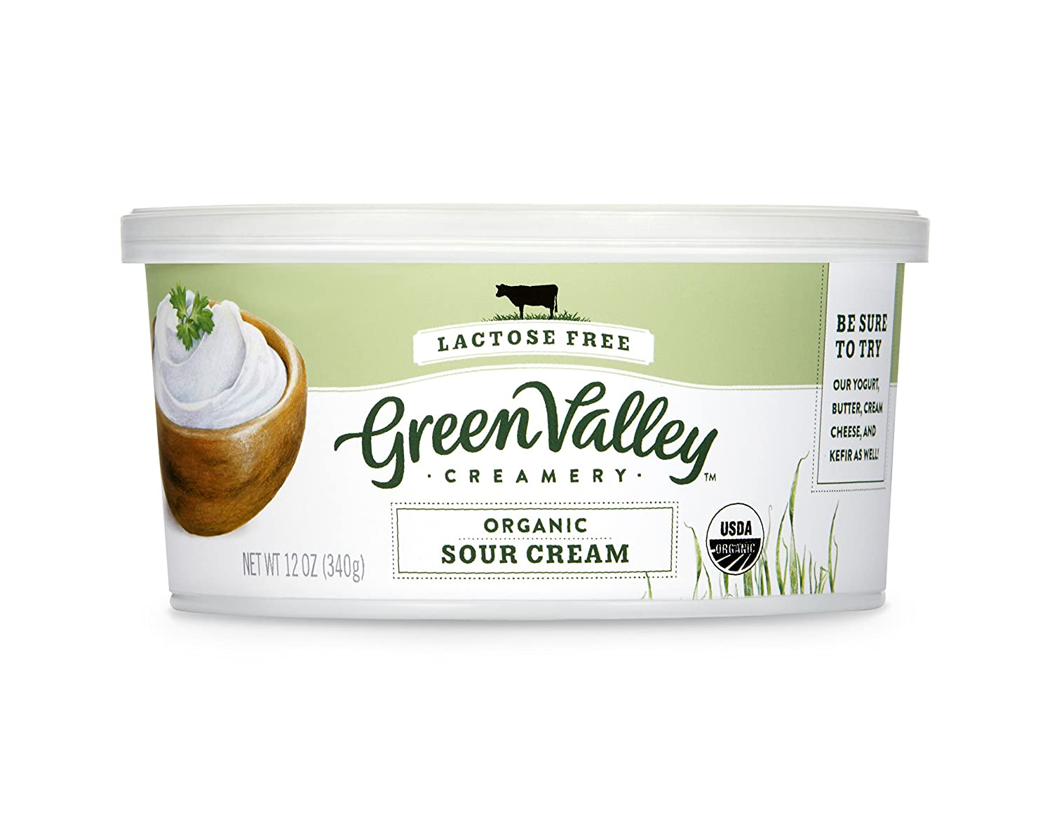 Green Valley Creamery Lactose Free Sour Cream 12 Oz Amazon Com Grocery Gourmet Food