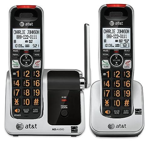 Amazon.com: AT&T CRL81212 - Teléfono DECT 6.0 con función de ...