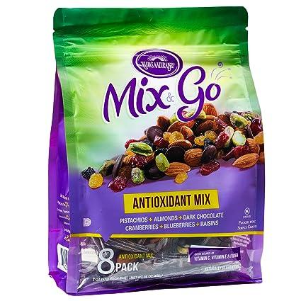 MIX & GO Paquete de aperitivos de una sola porción, bolsas ...