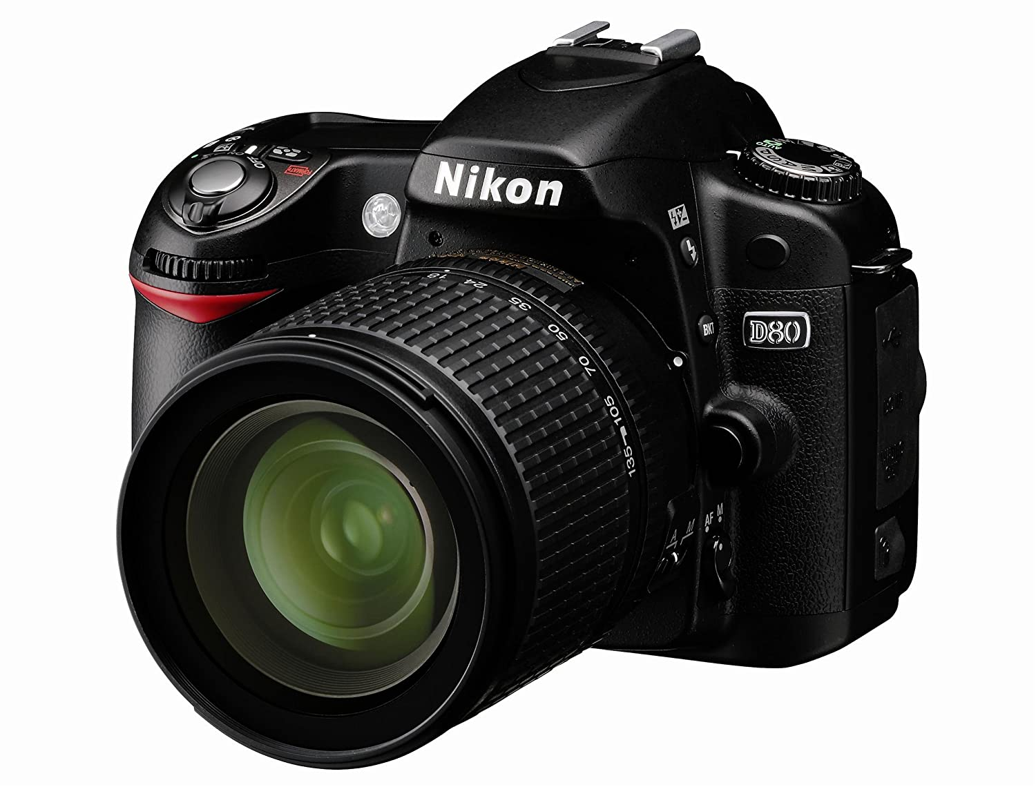 Amazon.com : Nikon D80 10.2MP Digital SLR Camera Kit with 18-135mm ...