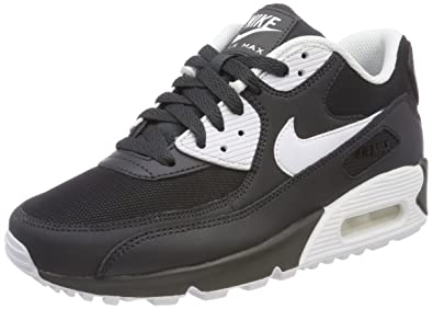 nike air max 90 black and white mens