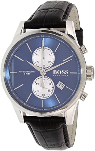 Hugo Boss Leather Chronograph 1513283 Explained