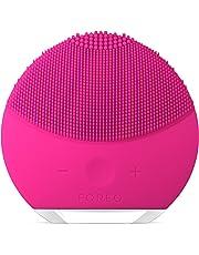 FOREO LUNA mini 2 Brosse visage en silicone doux pour tous les types de peau, Rechargeable via câble USB