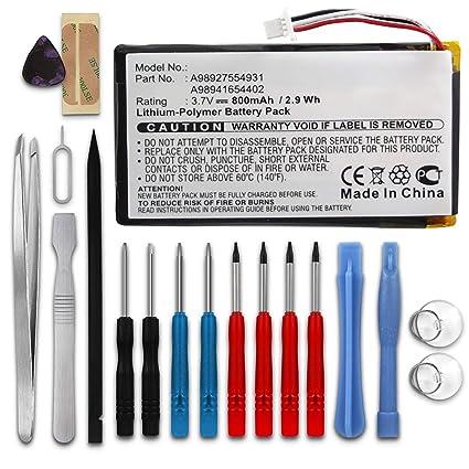 subtel® Batería Premium Compatible con Sony PRS-600 + Juego de ...