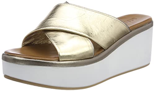 Inuovo 8678, Chanclas para Mujer, Dorado (Gold-Pewter 16781791), 36 EU