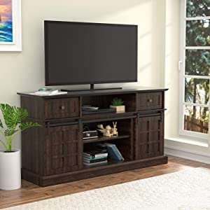 LGHM TV Stand, Entertainment Center for 65 Inch TVs, 58