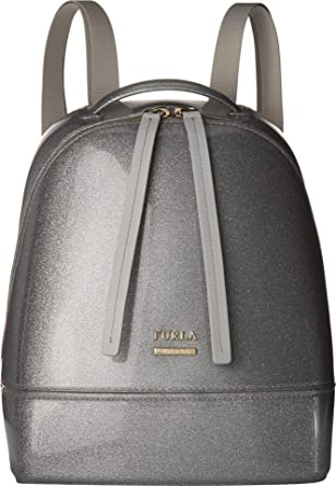 9565682e0be1 Amazon.com: Furla Women's Candy Cake Small Backpack Color Silver One ...
