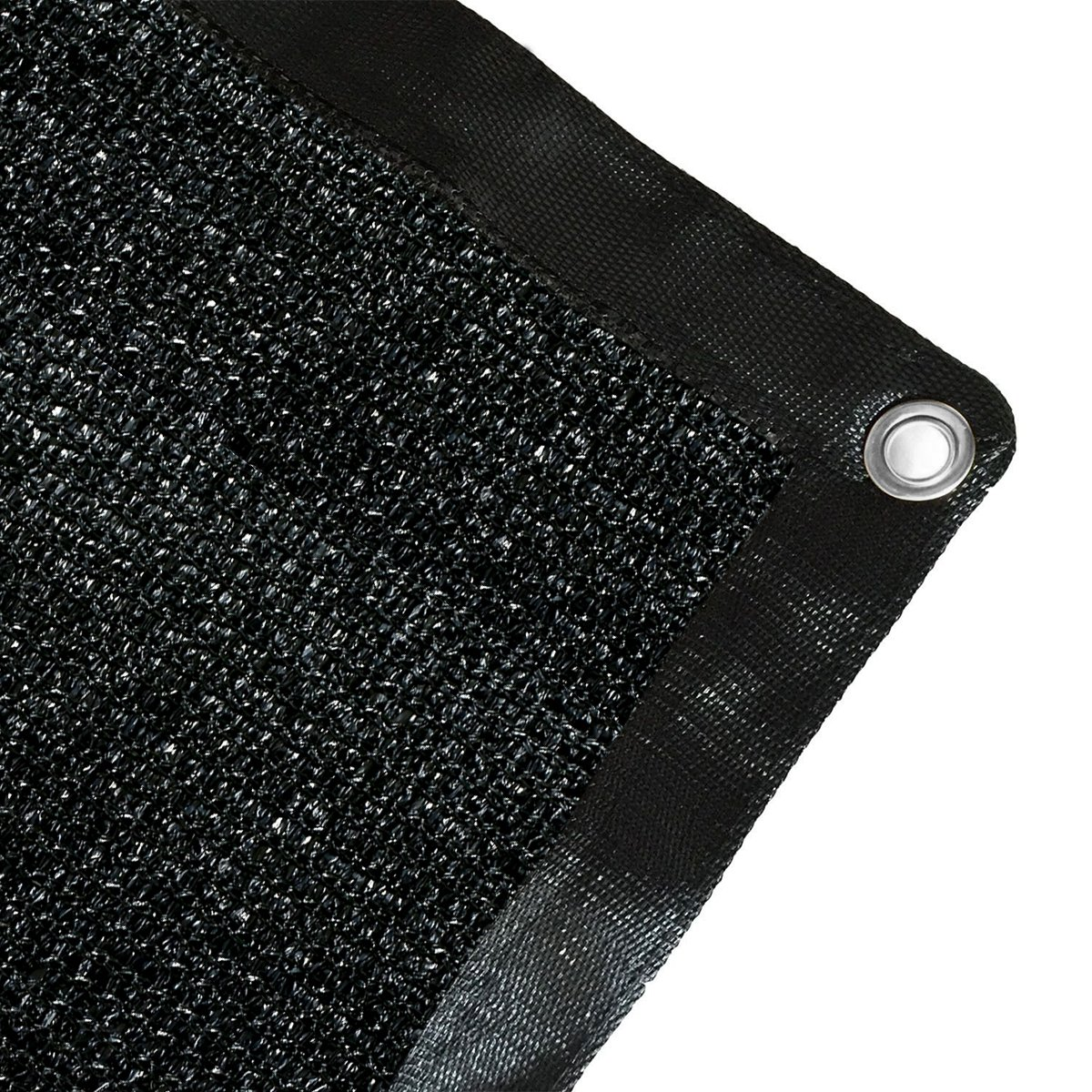Ecover 12x12ft Sun Mesh Shade Panel,90% Shade Cloth UV Sunblock with Grommets for Patio/Pergola/Canopy,Black