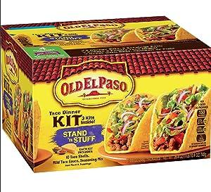 Old El Paso Stand 'N Stuff Taco Dinner Kit 3 pk | 30 Shells Total