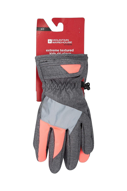 Mountain Warehouse Extreme Kids Ski Gloves - Warm Winter Mittens