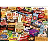 Gibsons Sweet Memories of the 1970's jigsaw puzzle. (1000 pieces)