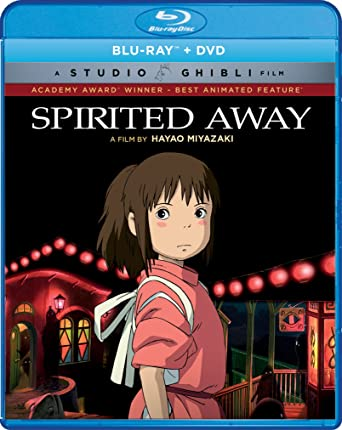 Amazon com: Spirited Away (Bluray/DVD Combo) [Blu-ray