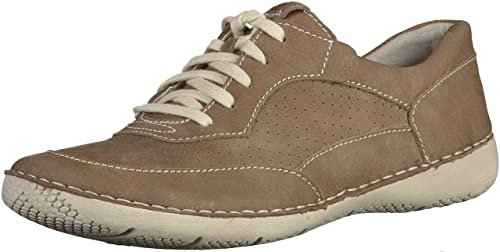 Josef Seibel Antje 09 Womens Casual Trainers 3/36 Taupe Suede