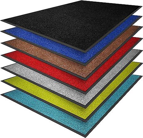 blau oder grau 60 x 90, grau aus Polyamid verschiedene Gr/ö/ßen Schmutzfangmatte Premium