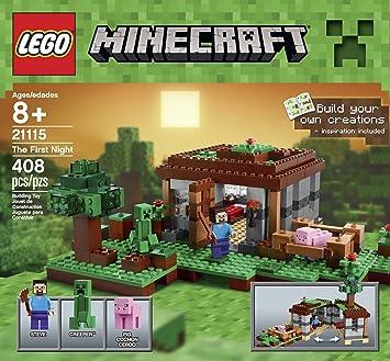 1 x Lego System Bauanleitung Minecraft First Night Erste Nacht 21115 Baukästen & Konstruktion