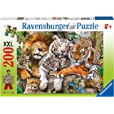 Ravensburger Big Cat Nap Puzzle 200pc,Children's Puzzles