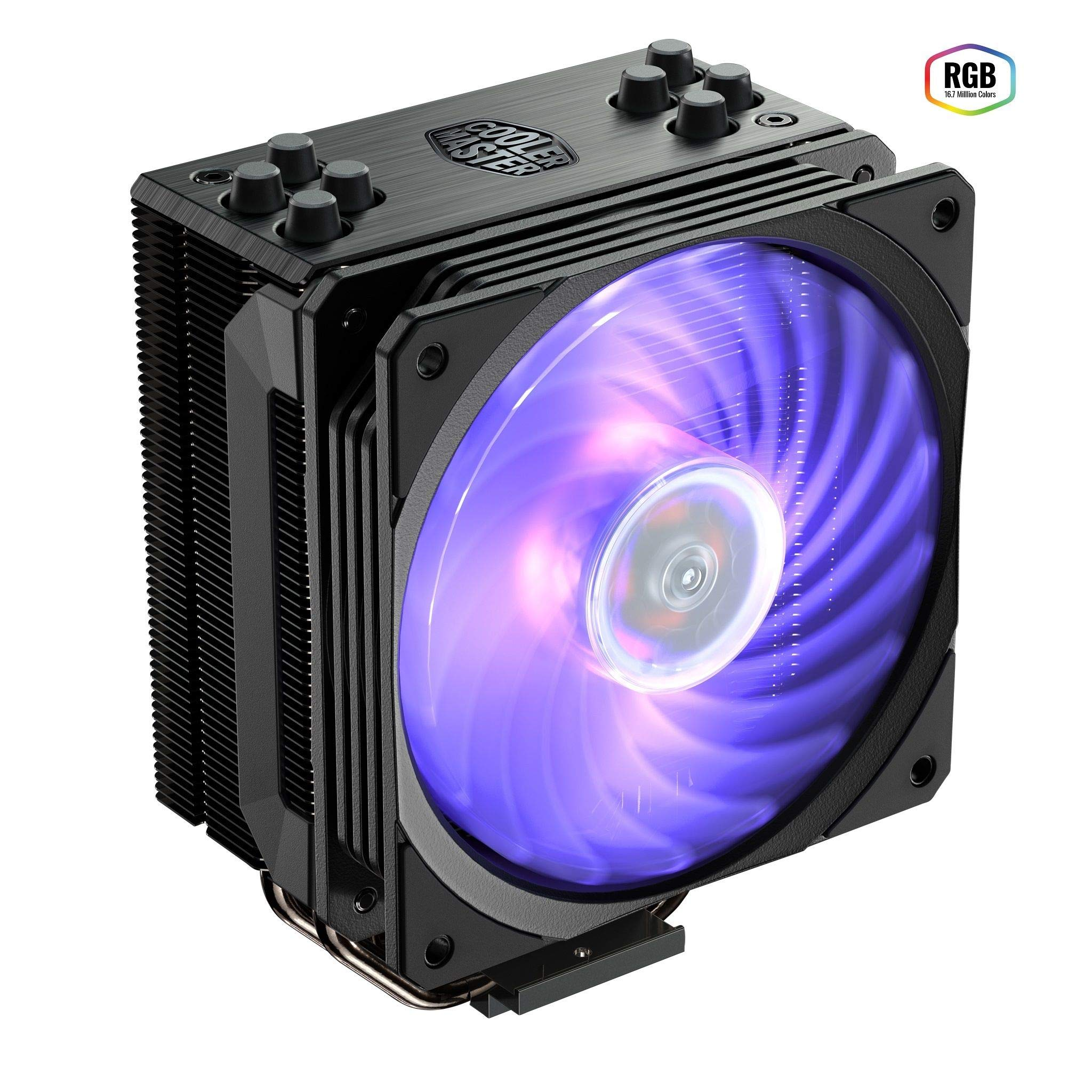 Cooler Master Hyper 212 RGB Black Edition CPU Cooling System by Cooler Master