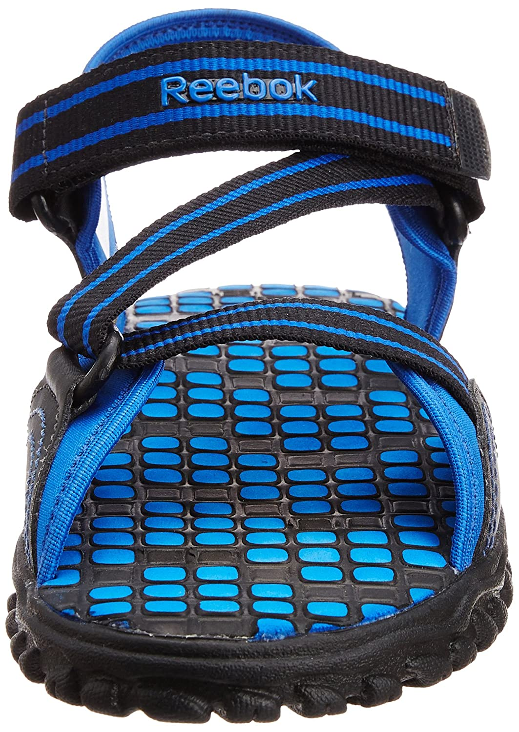 ef97d2361efea Reebok Men s Active Gear Lp Black and Blue Sandals and Floaters - 6 UK  Buy  Online at Low Prices in India - Amazon.in