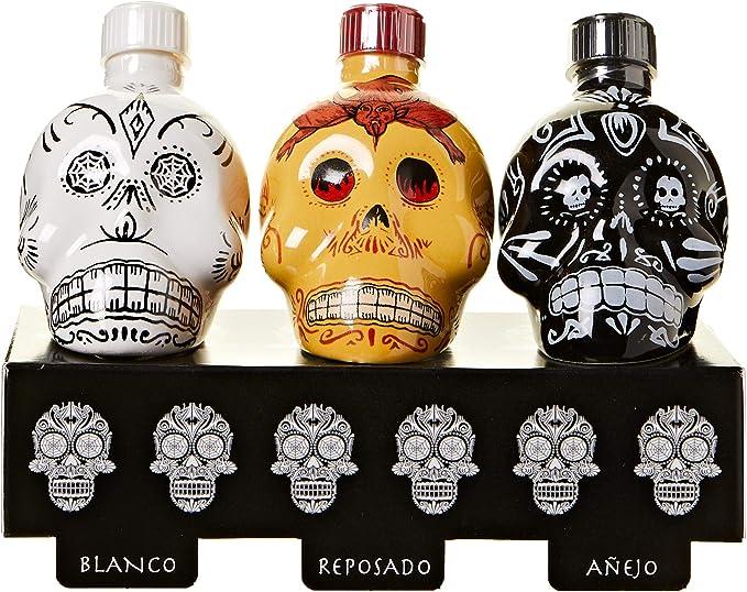 KAH Tequila Mini Set (3x 0,05l) con confezione regalo