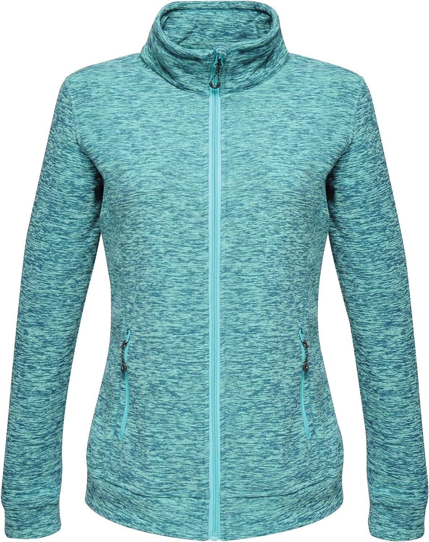Regatta Womens Professional Thornly Full Zip Quick Drying Marl Fleece