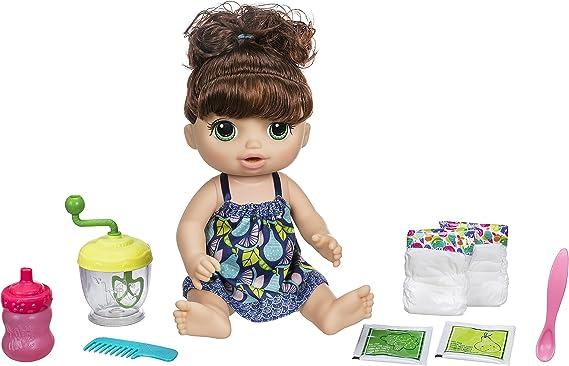 Amazon.es: Baby Alive - Muñeca de niña Morena: Juguetes y juegos