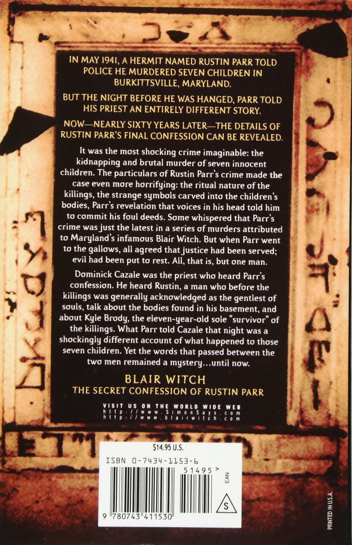 Blair Witch The Secret Confession of Rustin