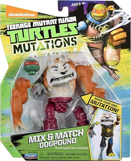 Nickelodeon Teenage Mutant Ninja Turtles Mix /& Match Dogpound Figure Playmates Toys 90664