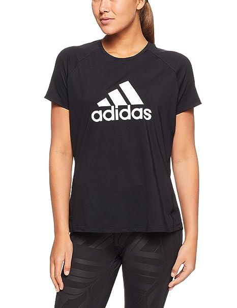 adidas D2m Logo, T-Shirt Donna