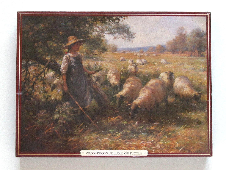 Waddingtons The Shepherd's Daughter Deluxe 750 Piece Jigsaw Puzzle