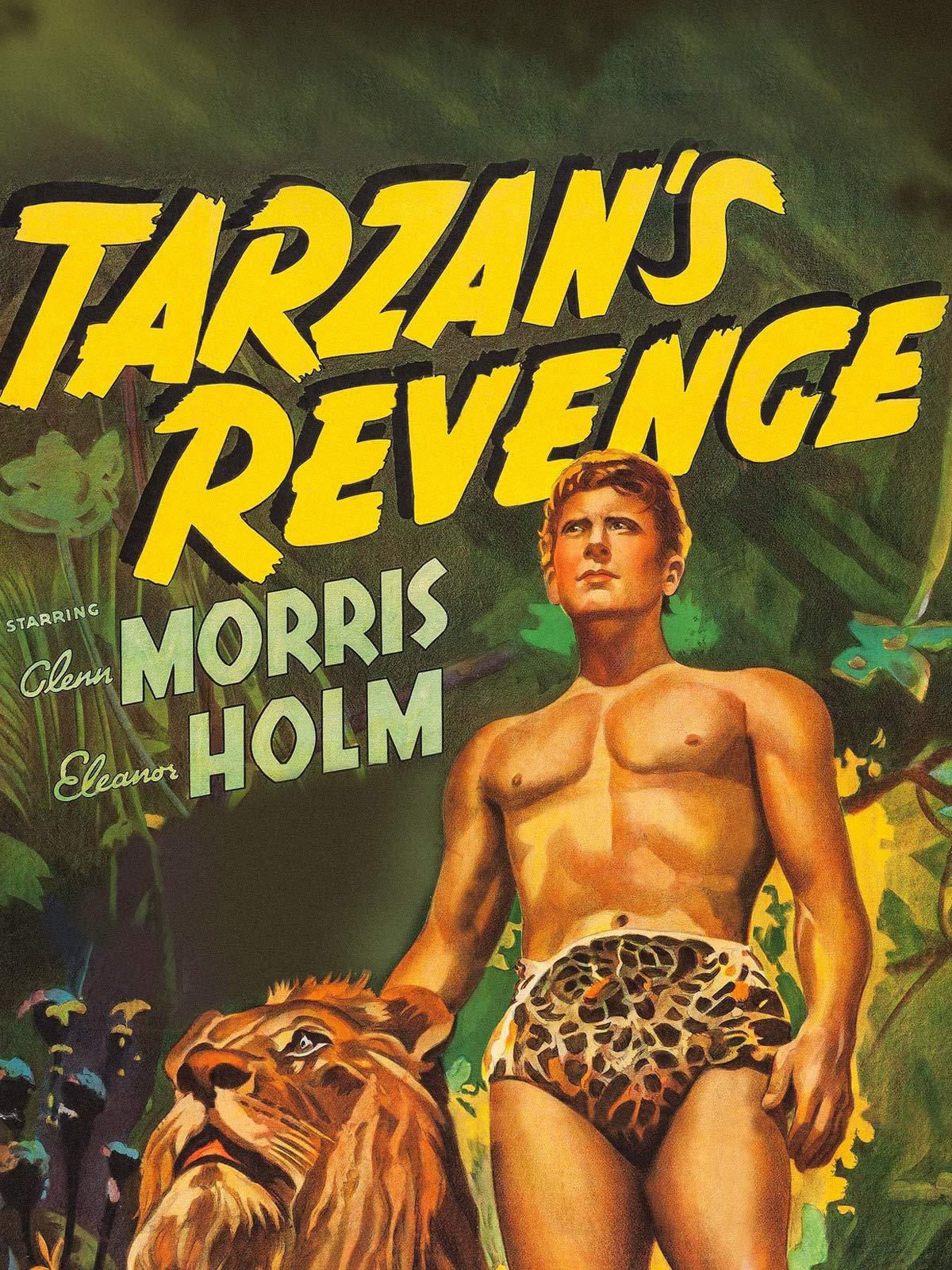 Tarzan's Revenge - Starring Glenn Morris & Eleanor Holm on Amazon Prime Video UK