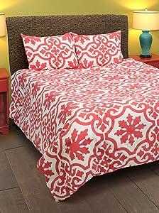Rizzy Home Molly 3-Piece Comforter Set, Queen