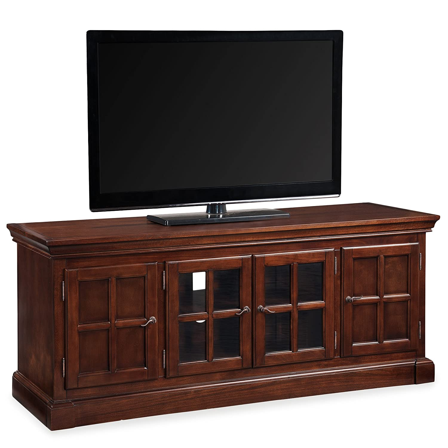 Amazon Com Leick 81560 Bella Maison 60 Tv Stand With Lever  # Image Table Tele Coin Maison