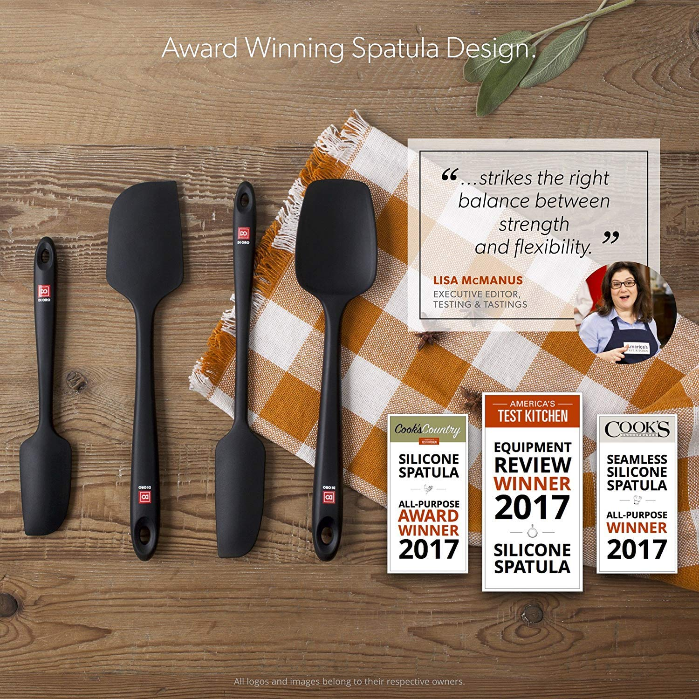 Amazon.com: Award-Winning Pro-Grade Black 4-Piece Seamless Silicone ...