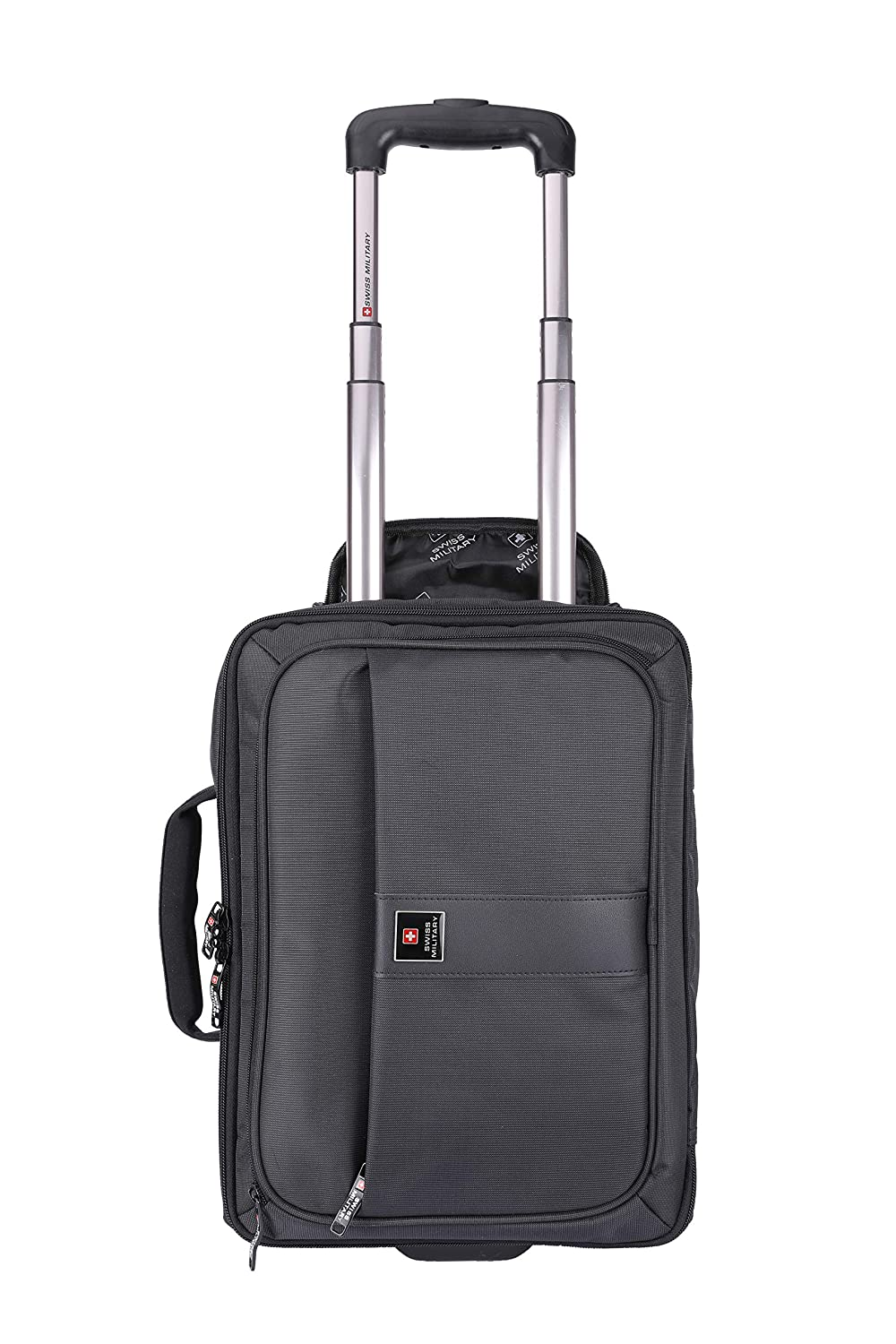 5af97647e Swiss Military 23 Ltrs Black Softsided Briefcase (LTB-4): Amazon.in: Bags,  Wallets & Luggage