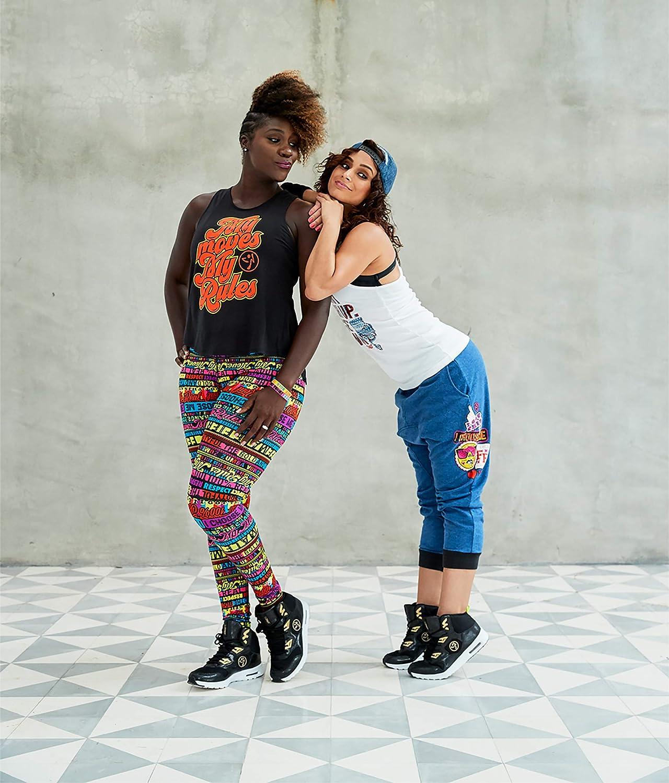 Zumba Air Classic Remix Sportliche High Top Tanzschuhe Damen Fitness Workout Sneakers