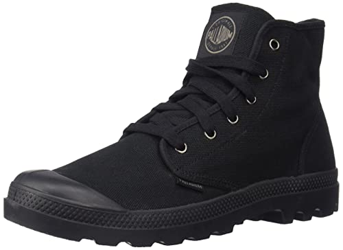 b1e129571e Palladium Boots Men's Pampa Hi Originale Canvas Boots, Black/Black, ...