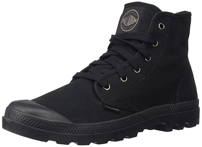 a1639b7083 Buy Palladium Mens Pampa Hi Casual Boots Black 10 D(M) US Online at Low  Prices in India - Amazon.in