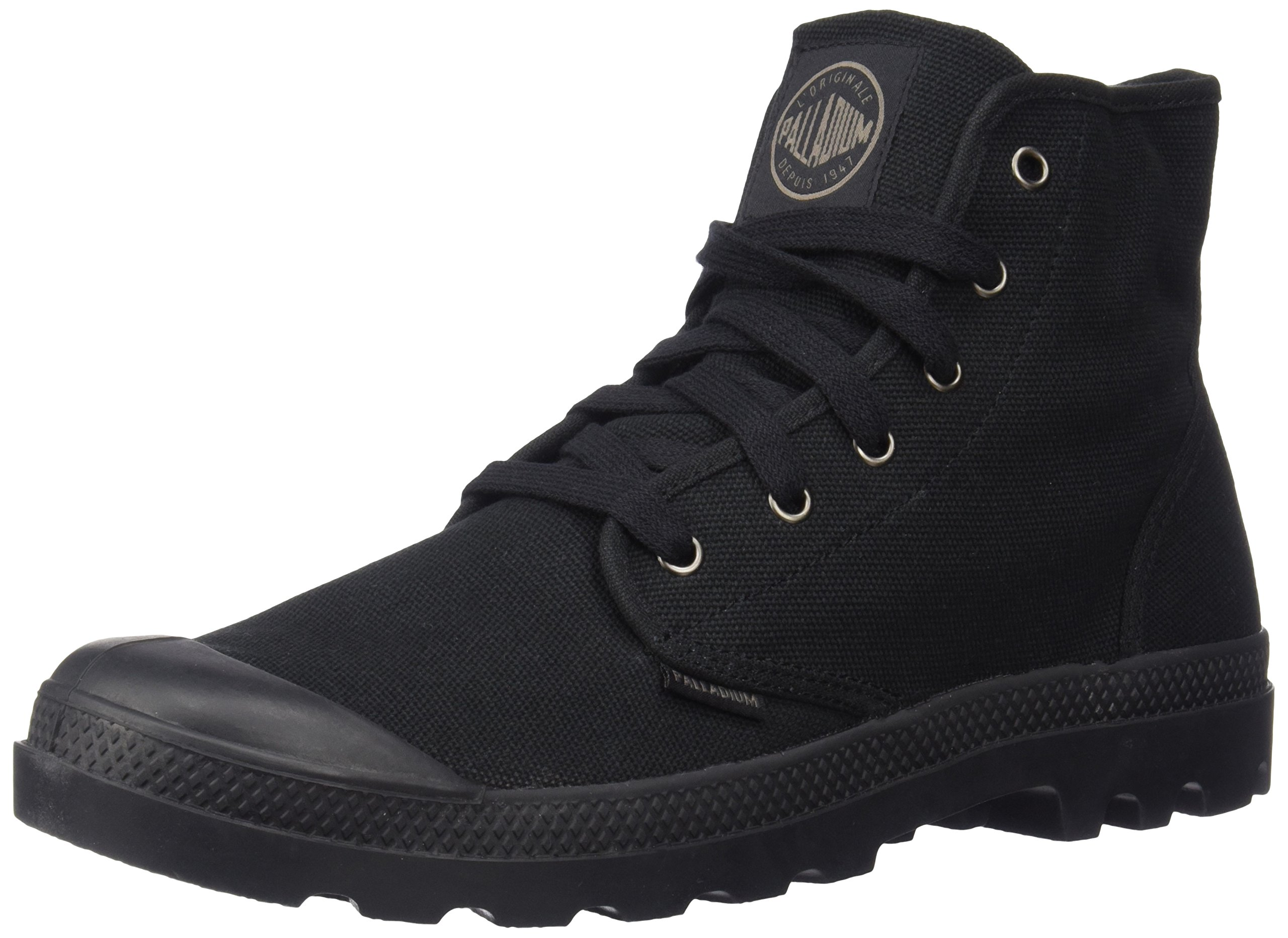 Palladium Men's Pampa Hi Canvas Boot,Black,10 M US