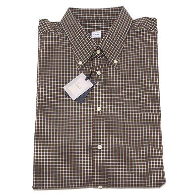 factory authentic 631cf f2f5b Carrel 8337P Camicia Uomo Quadretti Manica Lunga Shirt Men ...