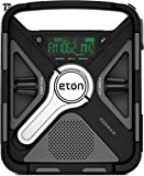 Eton Ultimate Camping AM/FM/NOAA Radio with S.A.M.E Technology, Smartphone Charging, Bluetooth, Giant Ambient Light and…