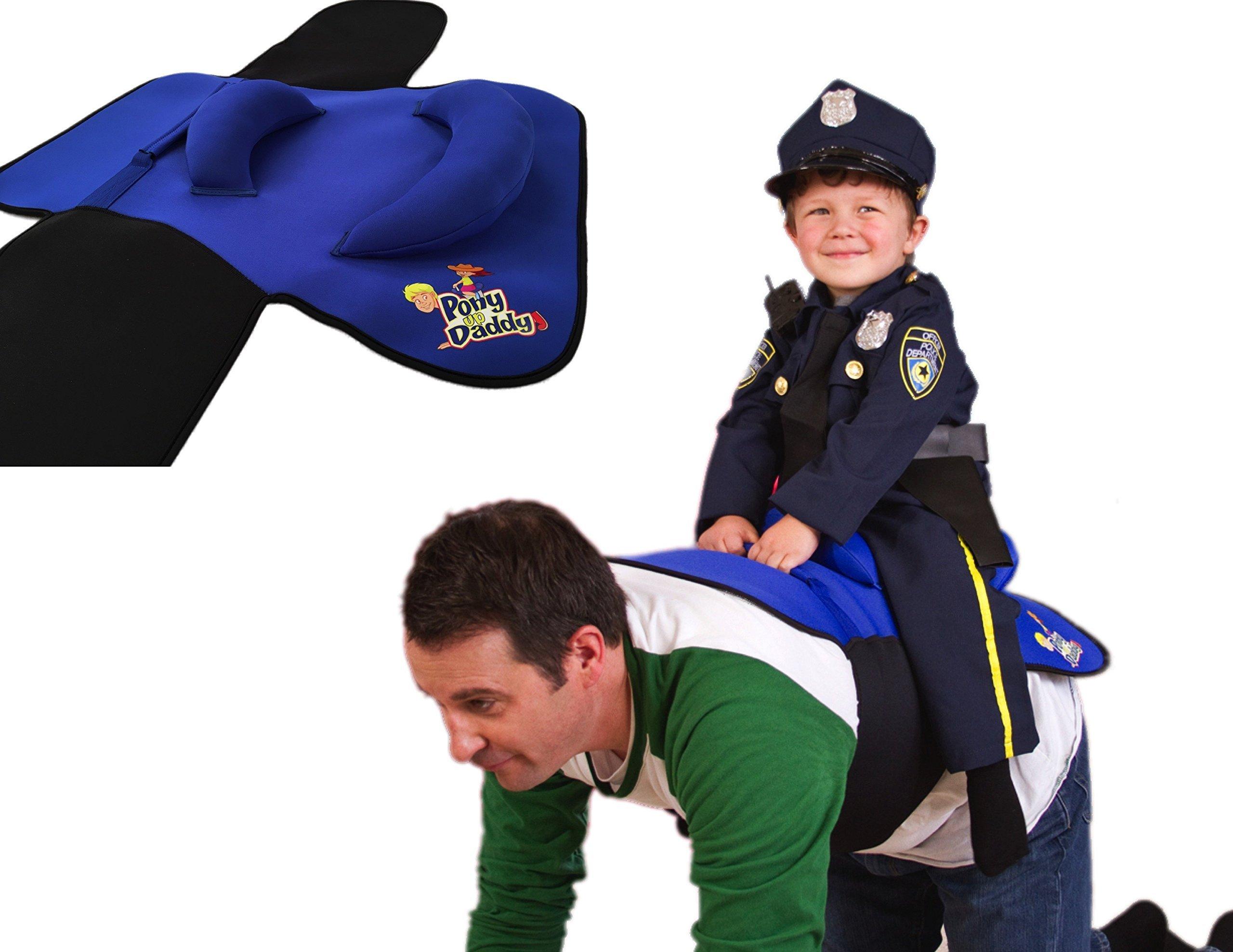 Pony Up Daddy Saddle - Sheriff Blue