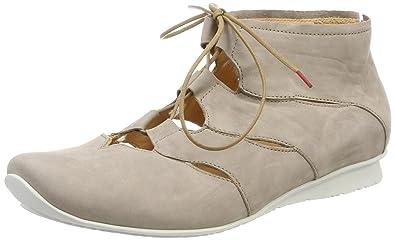 Think Damen Chilli_282114 Desert Boots, Schwarz (Schwarz 00), 38.5 EU